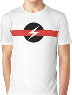 "Throbbing Gristle ""Flash"" T-Shirt Graphic T-Shirt"