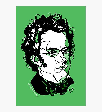 Franz Schubert Photographic Print