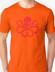 HYDRA Badge - Red Unisex T-Shirt