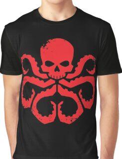 HYDRA Badge - Red Graphic T-Shirt