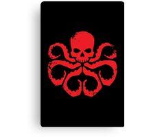 HYDRA Badge - Red Canvas Print