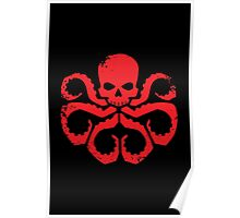 HYDRA Badge - Red Poster