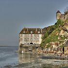Low tide at the Mont Saint-Michel by Thea 65