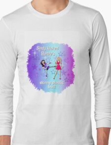 Sindy versus Barbie Long Sleeve T-Shirt