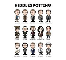 Hiddlespotting (poster/print) Photographic Print