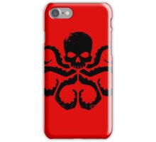 HYDRA Badge - Black iPhone Case/Skin