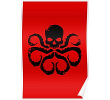 HYDRA Badge - Black Poster