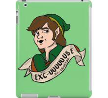 Well Excuuuuuse Me Princess. iPad Case/Skin