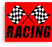 Racing Flags  Canvas Print