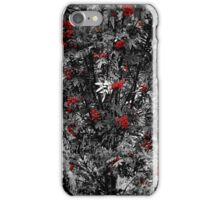 Red/Grey iPhone Case/Skin