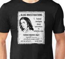 Alias Investigations Unisex T-Shirt