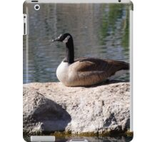 """""""I'm Not A Sittin Duck, I'm A Silly Goose"""" iPad Case/Skin"""