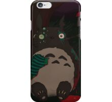 night of the living totoro iPhone Case/Skin
