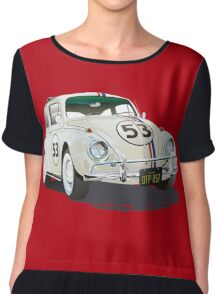 Herbie The Beetle Chiffon Top