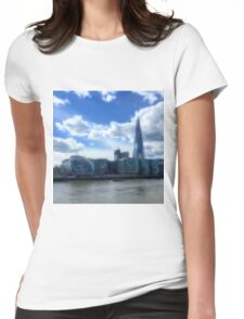 river view Womens Fitted T-Shirt