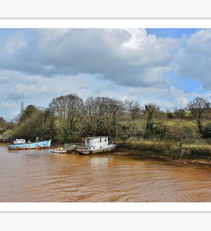 river boats Sticker