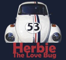 Herbie The Love Bug Kids Tee