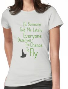 As Someone Told Me Lately Womens Fitted T-Shirt