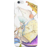 Stu the Meditating Sewer Rat  iPhone Case/Skin
