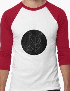 FOX - Simple Geometric design Men's Baseball ¾ T-Shirt