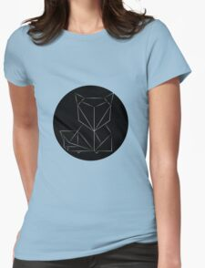 FOX - Simple Geometric design Womens Fitted T-Shirt