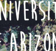 University of Arizona Succulents Sticker