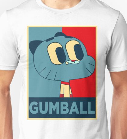 The amazing world of gumball 15 - gumball Unisex T-Shirt