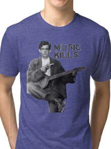 Music Kills Tri-blend T-Shirt