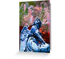 I would not change the song of a angel Greeting Card