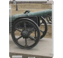 medieval bronze cannon  iPad Case/Skin