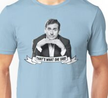 "Michael Scott - ""That's What She Said"" Unisex T-Shirt"