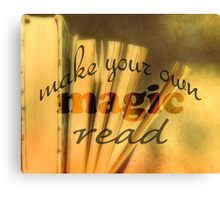 Read Quote Vintage Style Canvas Print