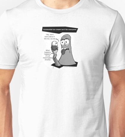 GLOb - Existential Ice Cream Unisex T-Shirt
