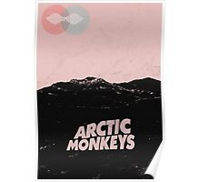 Arctic Monkeys AM Desert Poster Poster