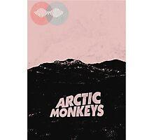 Arctic Monkeys AM Desert Poster Photographic Print