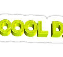#1 cool dad  Sticker