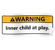 Inner child at play Poster