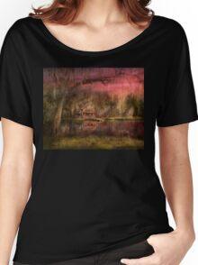 Cabin - De Land, FL - Summer Cottage 1904 Women's Relaxed Fit T-Shirt