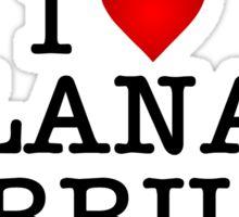 I love Lana Parrilla Sticker