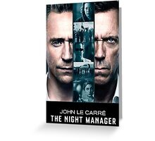 The Night Manager Greeting Card