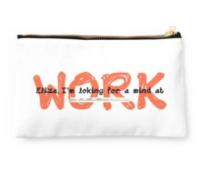 I'm looking for a mind at work. Studio Pouch