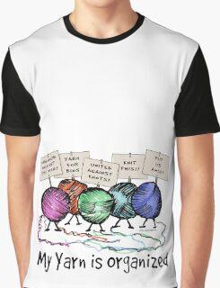 Yarn: Organized! Graphic T-Shirt