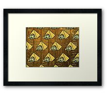 Neko Atsume - Ramses the Great Framed Print