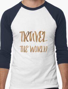 Travel the world Men's Baseball ¾ T-Shirt