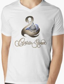 Captain Swan -Silver and Gold Mens V-Neck T-Shirt