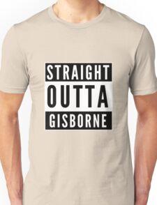 Straight Outta Gisborne Unisex T-Shirt
