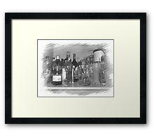 #Drunk Framed Print