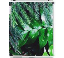 Dark Greenery iPad Case/Skin