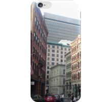Streets of Downtown Providence  iPhone Case/Skin