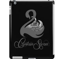 Captain Swan -Grey iPad Case/Skin